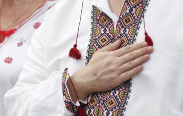 Запорожцы хором исполнили гимн Украины — ФОТО, ВИДЕО
