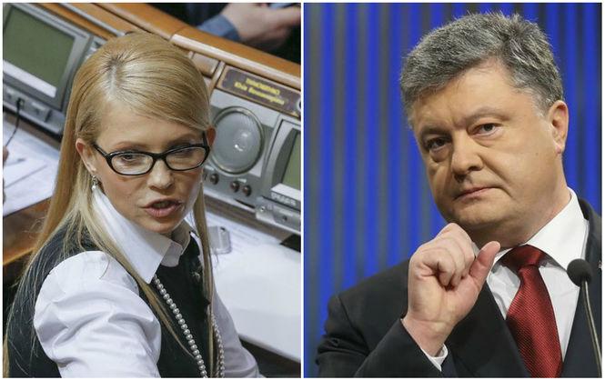 Тимошенко уверенно обходит Порошенко: данные соцопроса