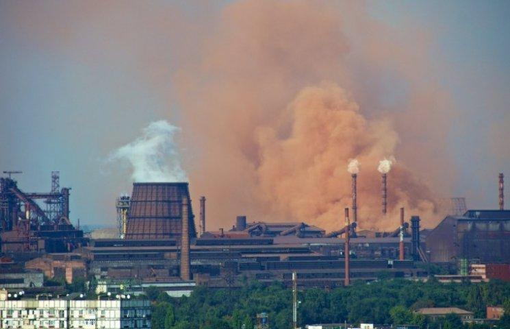 В Запорожье загрязнен воздух — информация СЭС