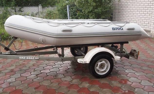 Лодка BRIG B350 (Бриг B350) 2006 года.
