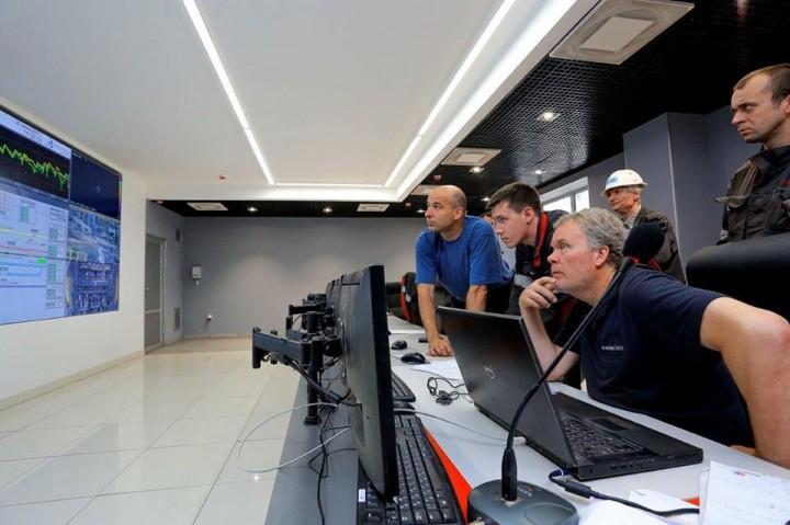 «Запорожсталь» расширяет производство: за 1,5 миллиарда гривен построили домну (ФОТО, ВИДЕО)