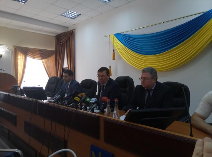 Луценко назвал запорожские ОПГ и чиновников, которым предъявлены новые обвинения