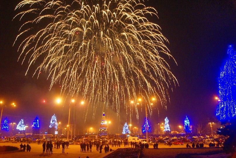 Новый год 2018 в Запорожье: где будут проходить массовые гулянья