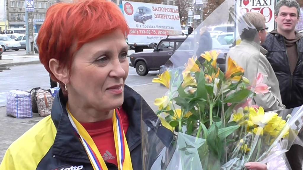 В Запорожье встретят 14-кратную чемпионку мира по гиревому спорту Любовь Черепаху