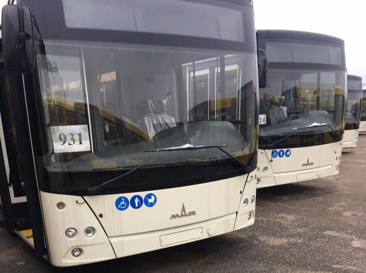 Запорожцам показали новые вместительные автобусы по программе лизинга (ФОТО)
