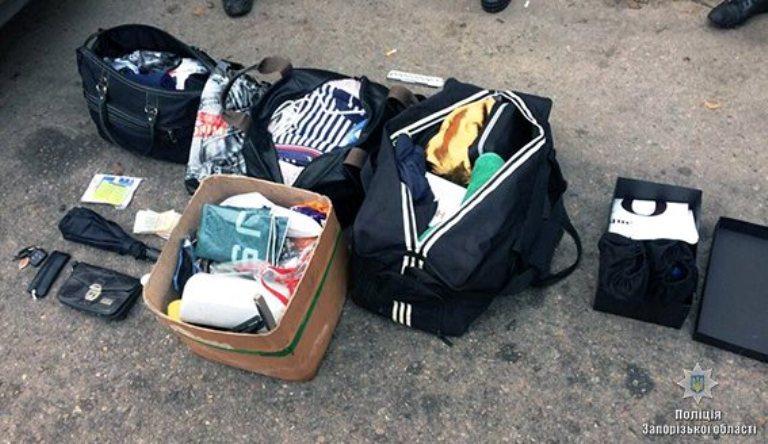 В Запорожье задержали «на горячем» банду квартирных воров (ФОТО, ВИДЕО)