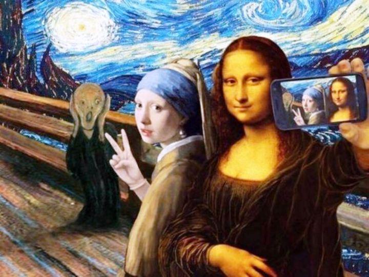 #MuseumSelfie: запорожцы поддержали Всемирный день селфи в музее (ФОТО)