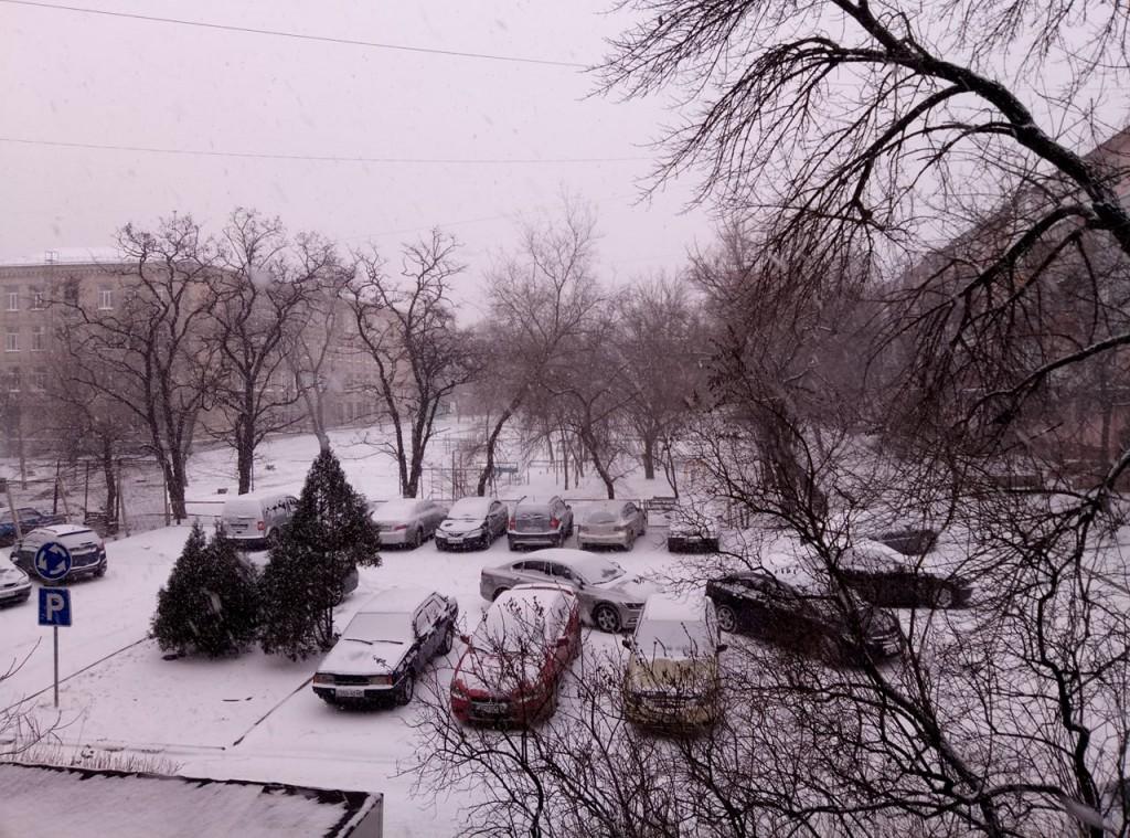 Как долго в Запорожье продержится снежная морозная погода — прогноз
