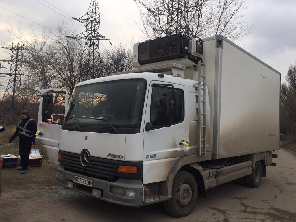 Стали известны подробности с места преступления в Хортицком районе (ФОТО)
