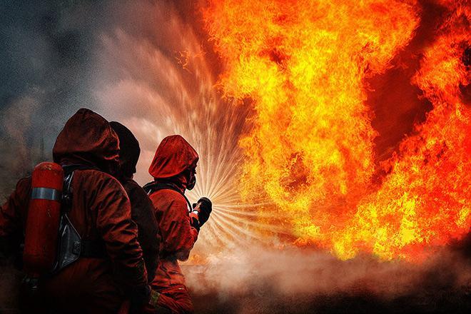 В Запорожской области пожарные спасли двух детей (ФОТО)