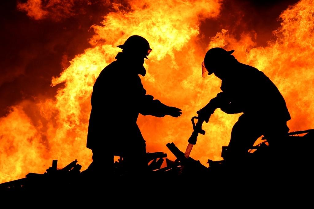 В Запорожской области пожар в доме унес жизнь человека