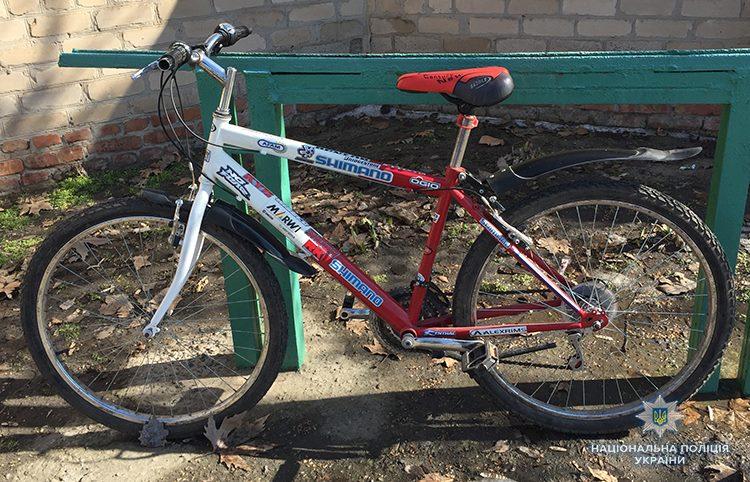 В Мелитополе задержали вора велосипеда и нашли у него наркотики (ФОТО)