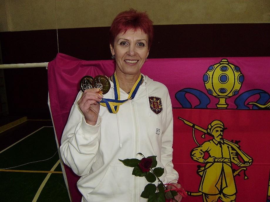 Запорожанка стала двадцатикратной чемпионкой Украины