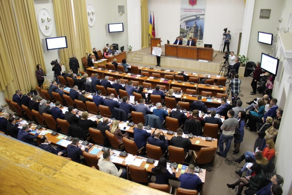 Запорожские депутаты собрались на 27-ю сессию горсовета (ФОТОРЕПОРТАЖ)
