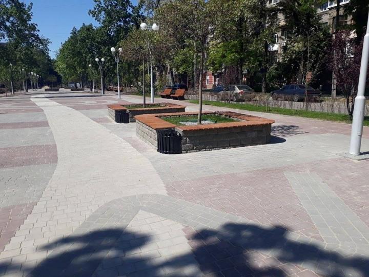 В Запорожье остановят реконструкцию пр. Маяковского