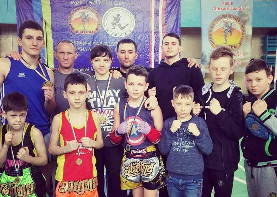 Запорожская спортсменка взяла «золото» на чемпионате Украины по тайскому боксу (ФОТО)