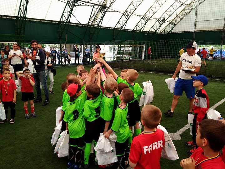 В запорожской «Дубовке» прошел областной кубок по мини-футболу среди детей (ФОТО)