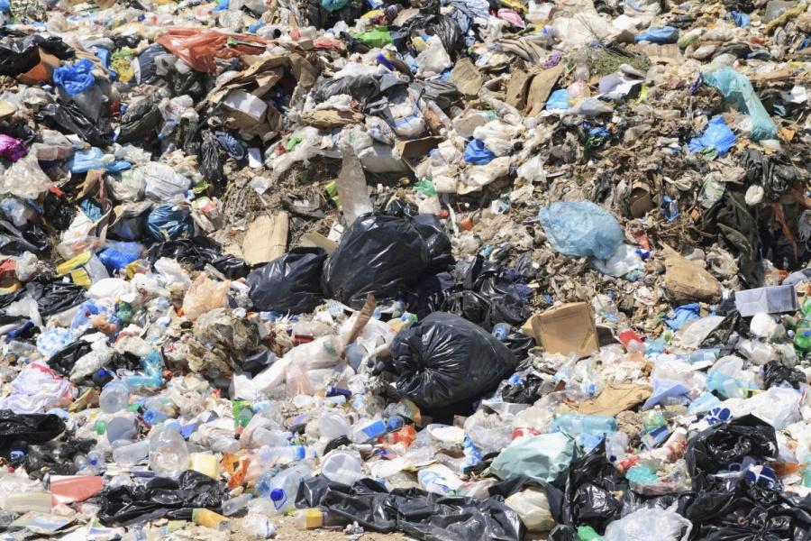 «Дышать было нечем»: в Запорожье на кладбище загорелся неубранный коммунальщиками мусор (ВИДЕО)