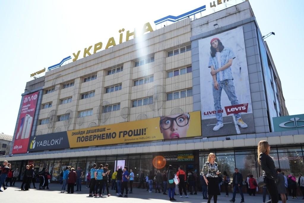В Запорожье спасатели проинспектировали один из самых старых торговых центров города (ФОТОРЕПОРТАЖ)