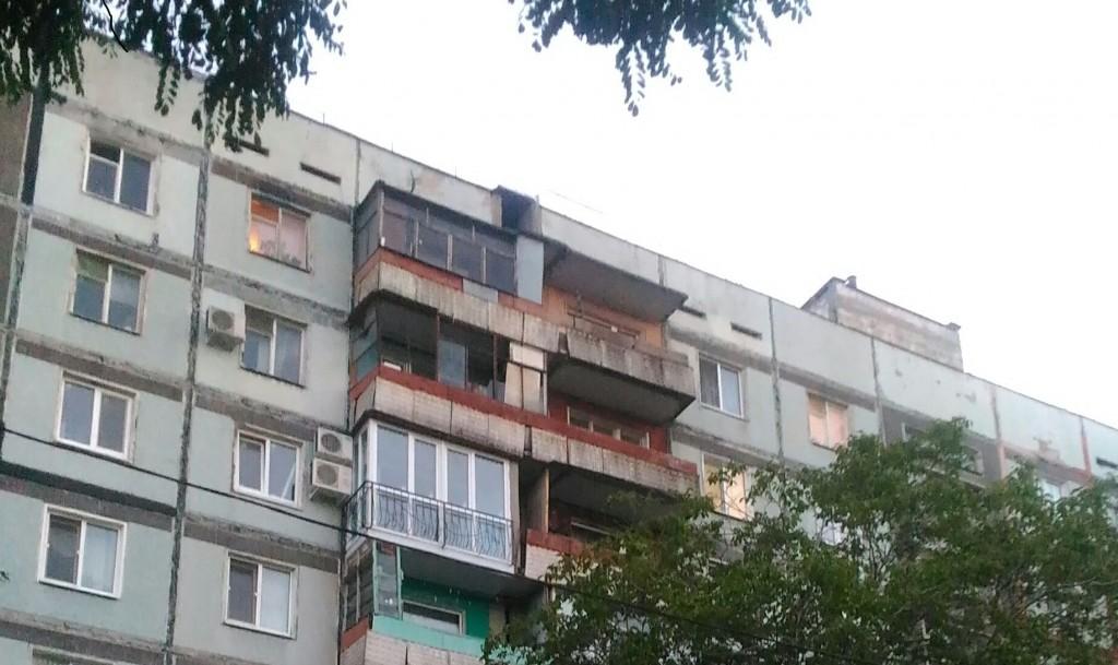 Жизнь под наклоном: в Запорожье рушится девятиэтажный дом (ФОТО)