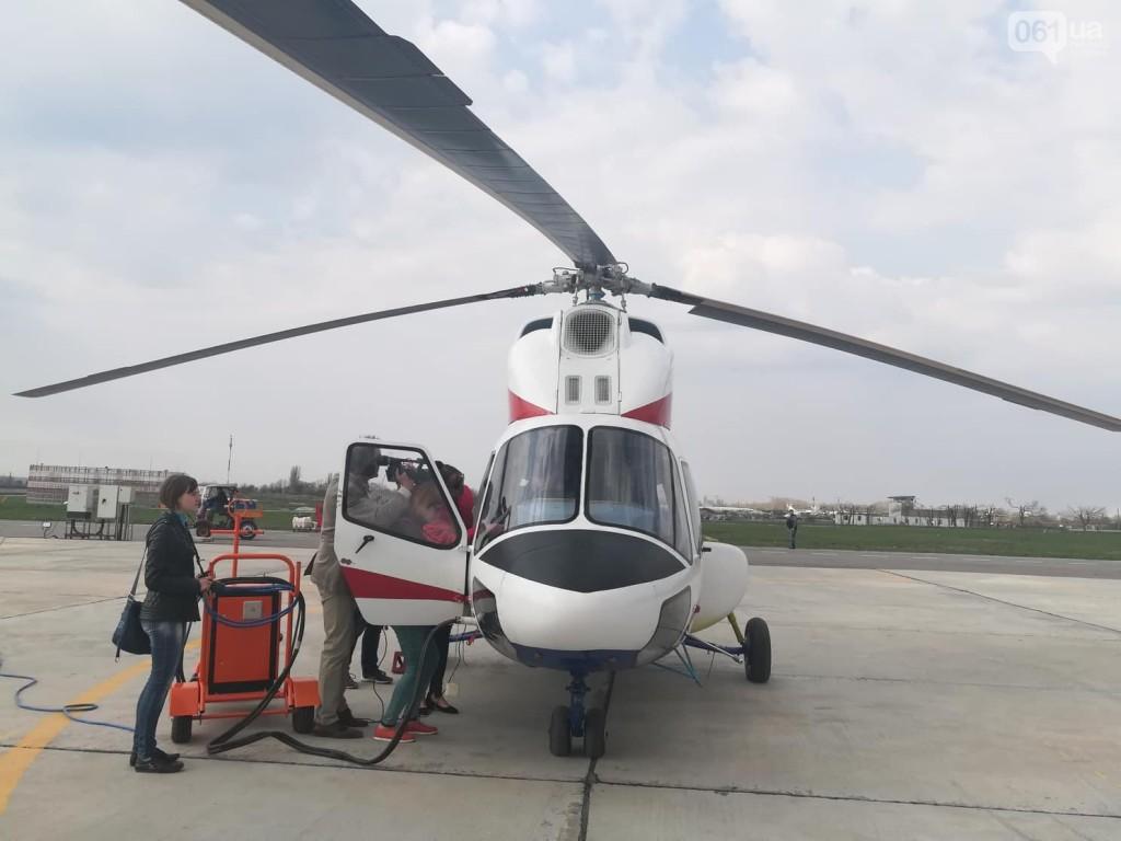 В Запорожье в небо поднялся первый вертолет украинского производства (ФОТО, ВИДЕО)