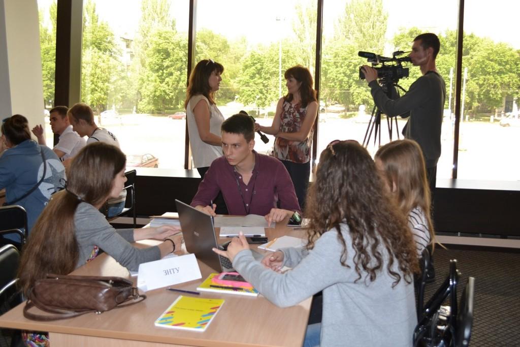 Будущее бизнеса: в Запорожье среди студентов прошел бизнес-баттл (ФОТОРЕПОРТАЖ)
