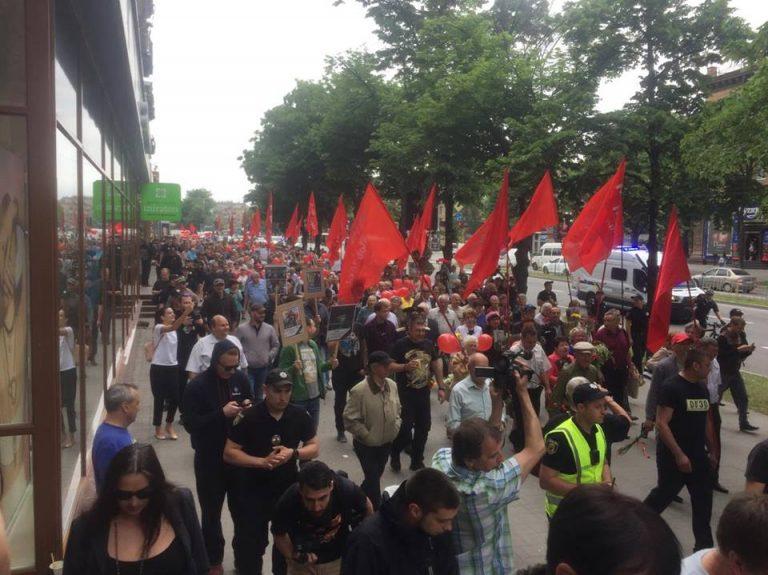 9 мая в Запорожье: акция «Полка Победы» собрала около 300 человек (ФОТО, ВИДЕО)