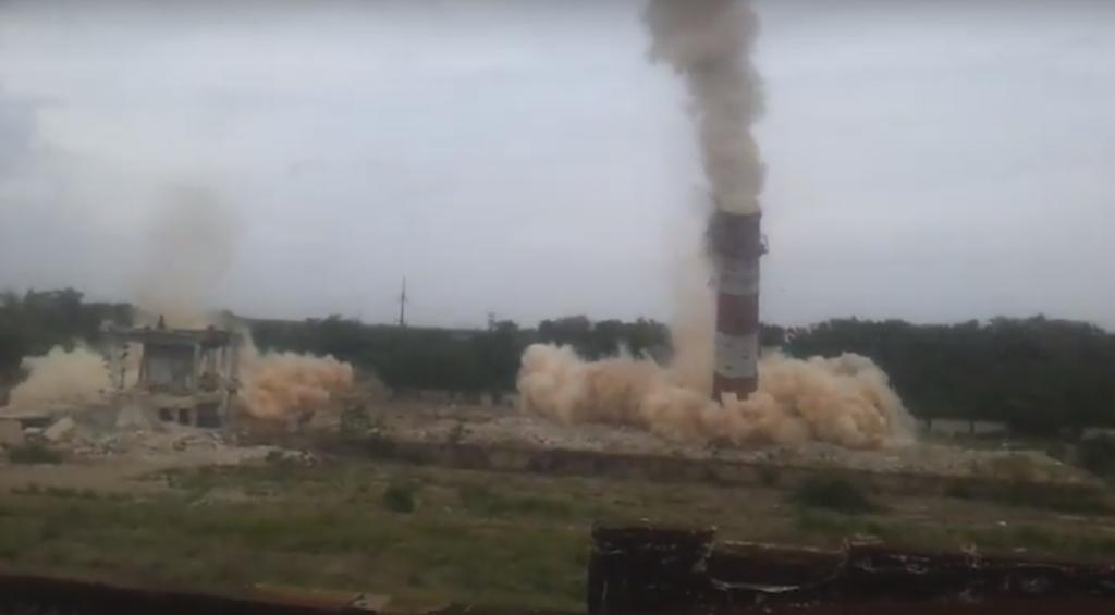 В Запорожской области прогремел взрыв: уничтожают завод (ВИДЕО)