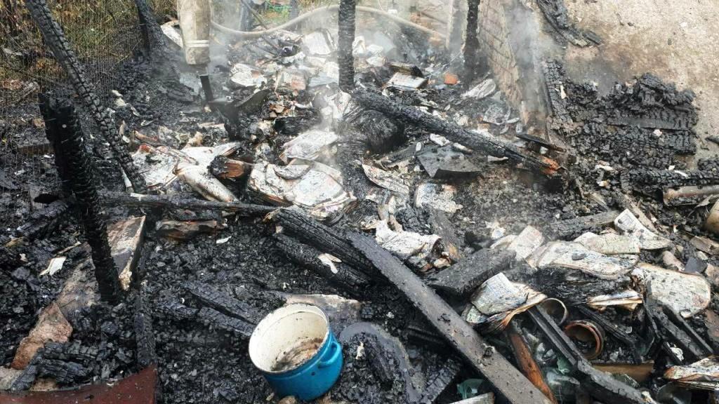 В Запорожье во время пожара пострадала 62-летняя женщина (ФОТО)