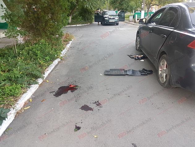 В Запорожской области устроили погоню на авто и изрезали мужчину (ФОТО)