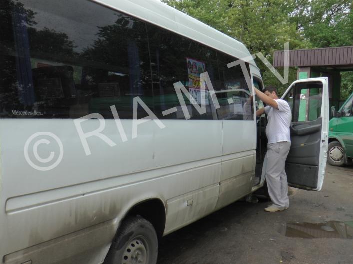 В Запорожской области маршрутчики прятались от проверки (ВИДЕО)