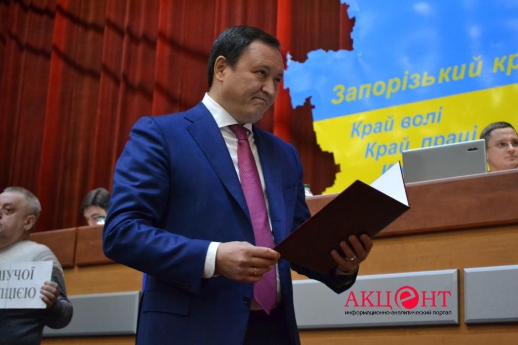 Запорожский губернатор скрыл 5 элитных авто и расходы на отдых: НАБУ расследует дело