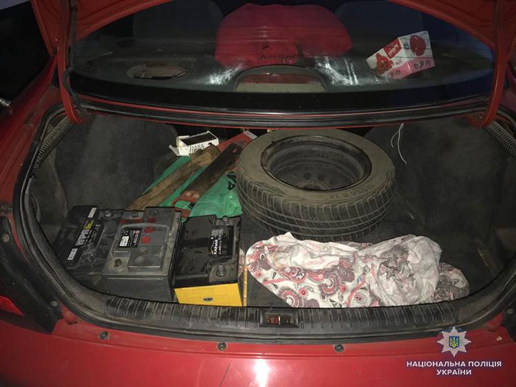В Запорожье полисмены задержали двух автомобильных воров (ФОТО)