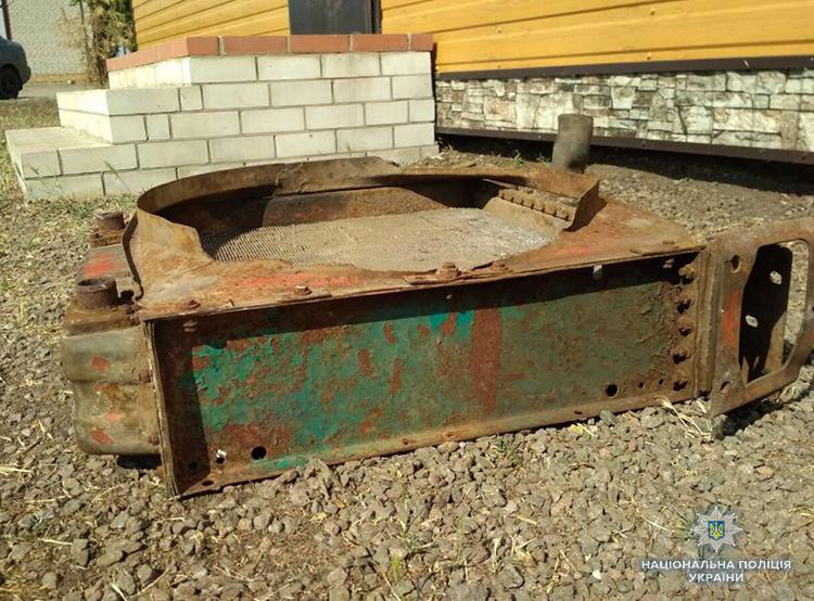 В Запорожской области задержали грабителя, проникшего на склад (ФОТО)