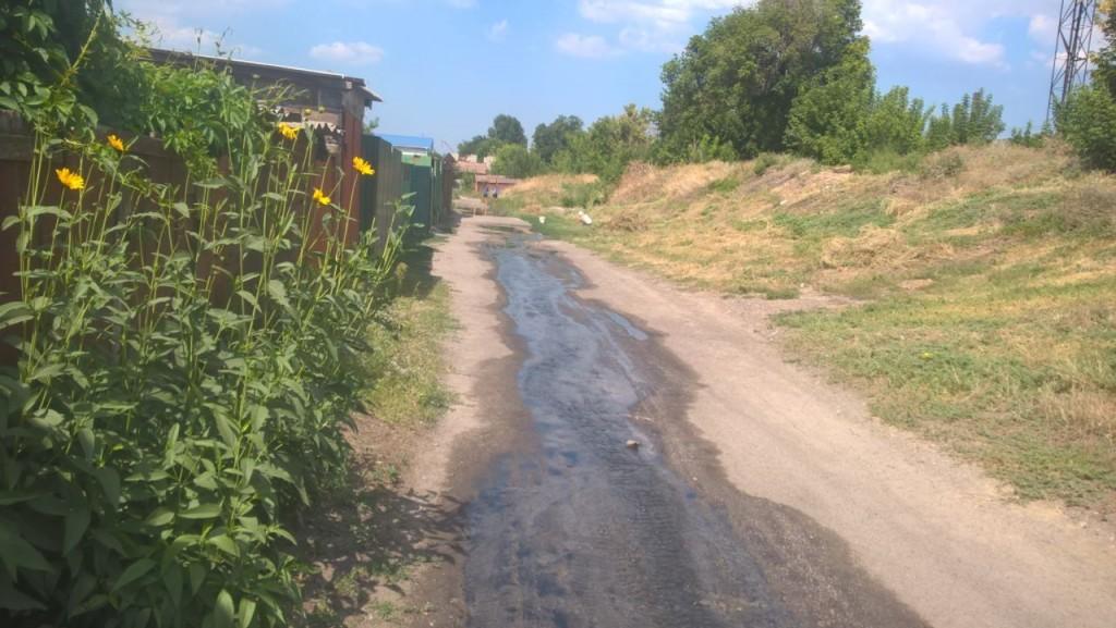 В Запорожье целую улицу затопило канализационными стоками: кто устранит аварию неизвестно (ФОТО, ВИДЕО)