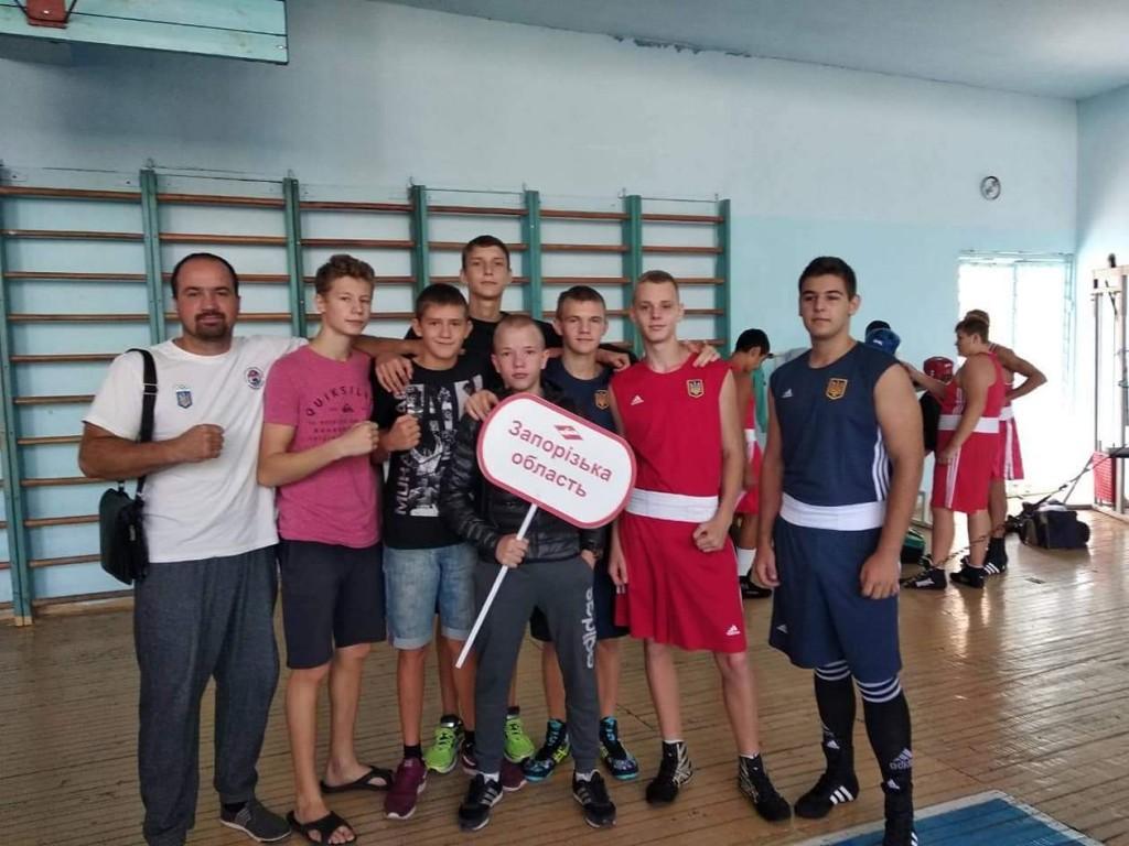 Юные запорожские боксеры с успехом выступили на чемпионате Украины ФСТ «Спартак»