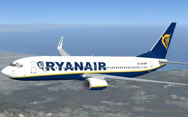 Лоукостер Ryanair запустит внутренние авиарейсы в Украине: будет ли в списке Запорожье
