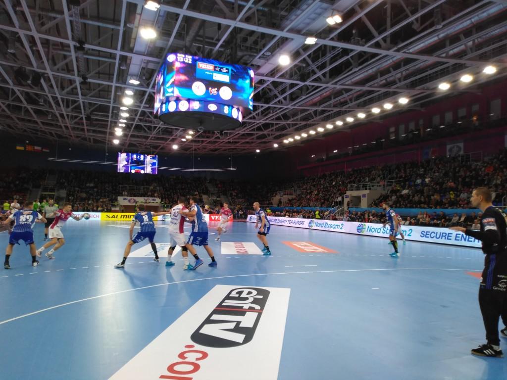 Запорожский «Мотор» сыграл третий матч гандбольной Лиги Чемпионов (ФОТО)