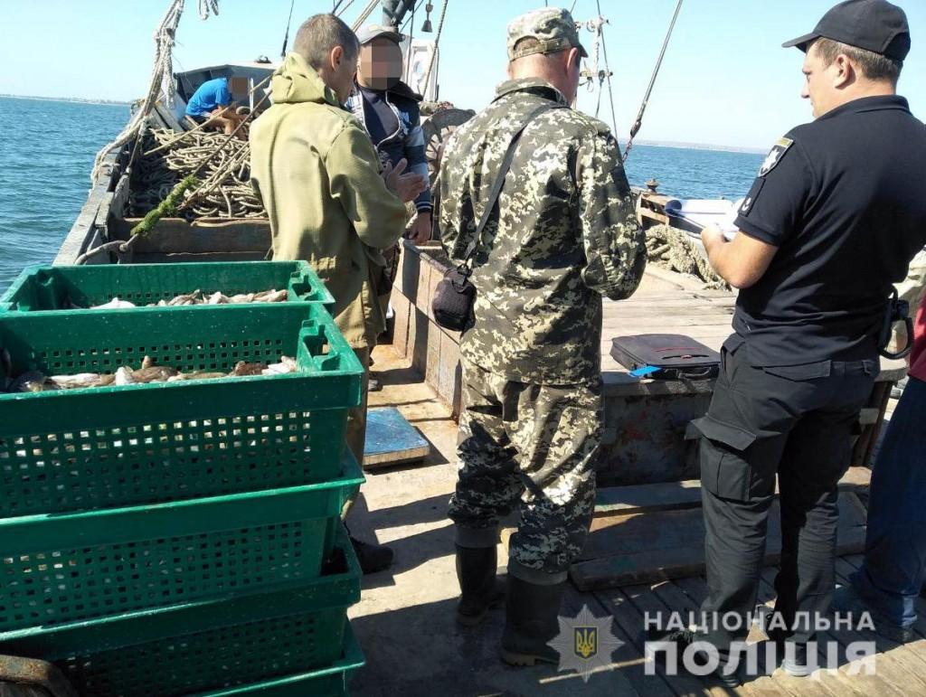 В Запорожской области полиция выявила необычных браконьеров (ФОТО)