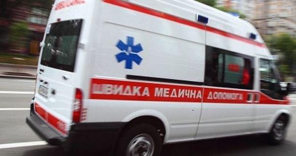 В Запорожье в ДТП попала реанимация Скорой помощи: на ходу осталось две