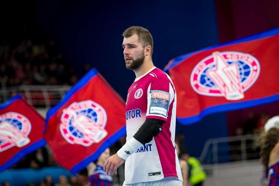 Запорожский «Мотор» продолжил свою безвыигрышную серию в гандбольной Лиге Чемпионов