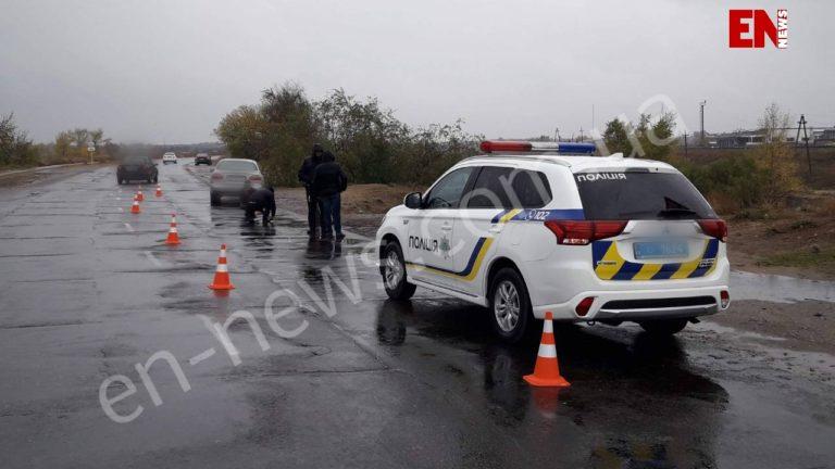 Не успел затормозить: в Запорожской области мужчина сбил пожилую женщину (ФОТО)