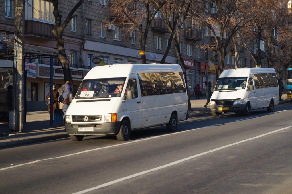 Просто включил игнор: в Запорожье очередной скандал с водителем маршрутки