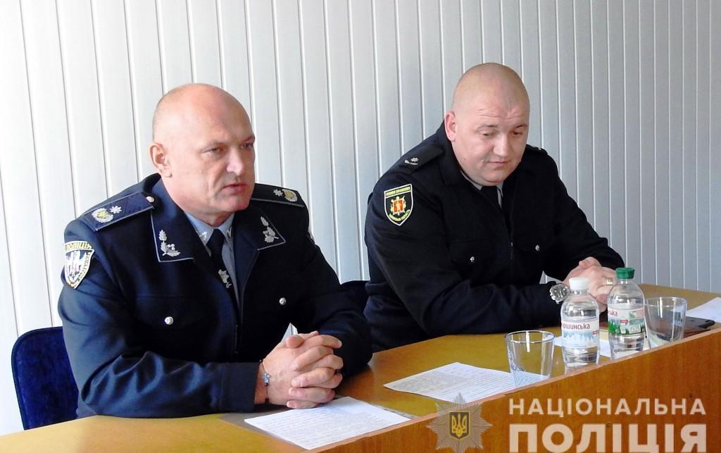 В одном из районов Запорожья представили нового начальника полиции: что о нем известно (ФОТО)