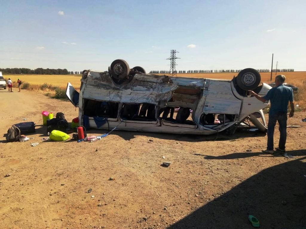 В Запорожье скончался еще один пассажир маршрутки после аварии под Каменским