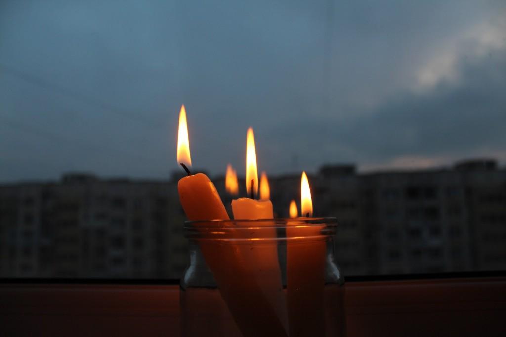 В Запорожье на Бабурке пропало электричество