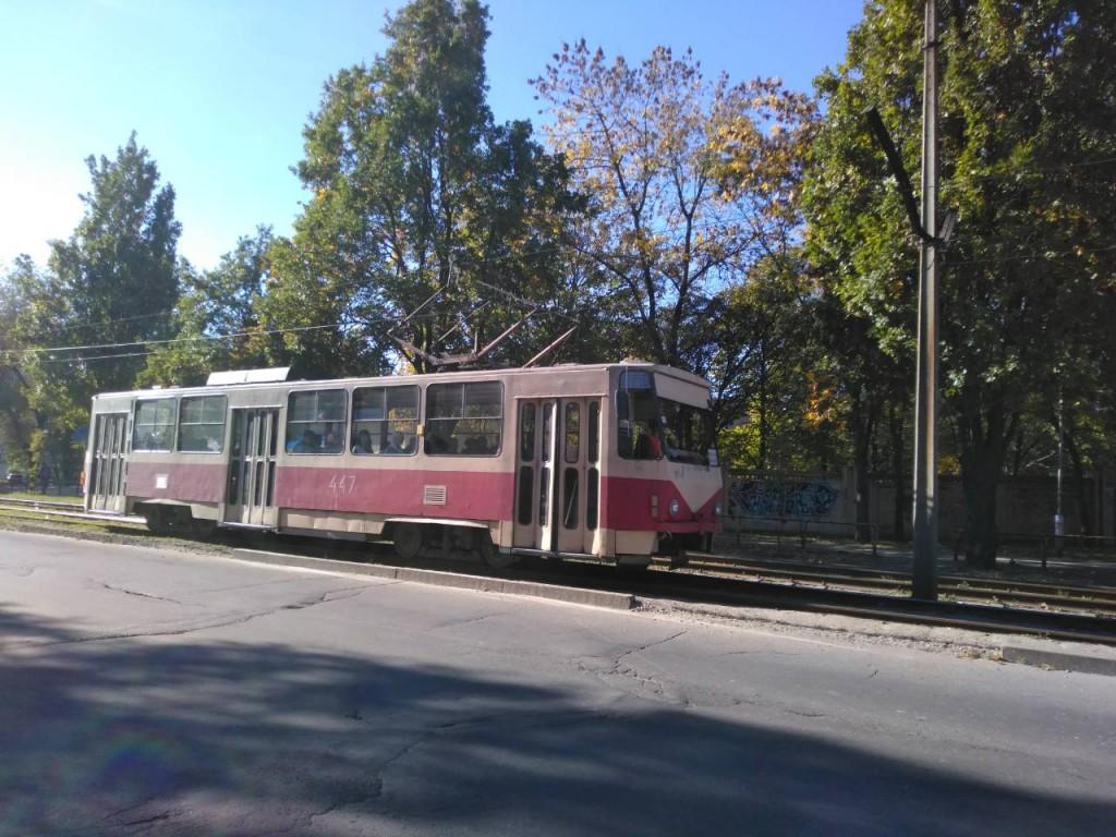В Шевченковском районе Запорожья еще один трамвайный маршрут изменит движение