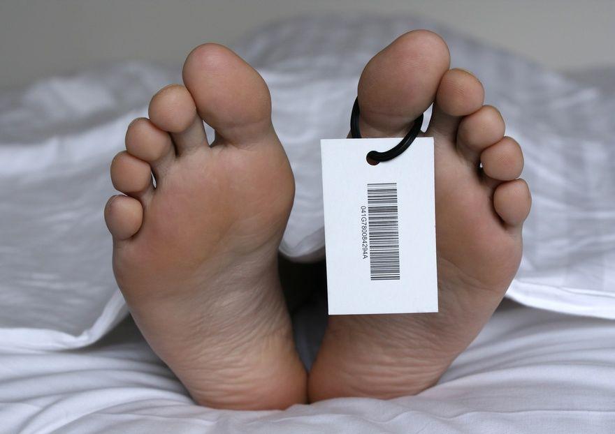 В спальном районе Запорожья возле школы нашли труп мужчины (ФОТО)