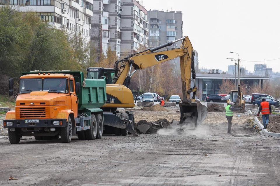 В Запорожье через спальный микрорайон сделают выезд на Набережную  (ФОТО)