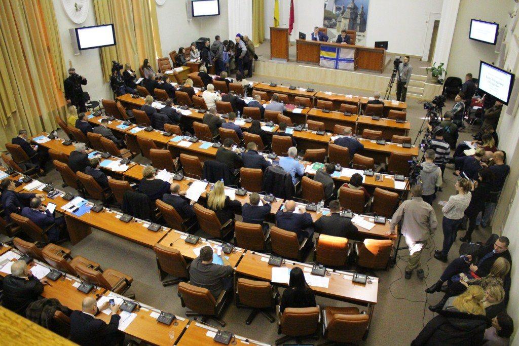 В Запорожье проходит 34-я сессия городского совета (ФОТОРЕПОРТАЖ)
